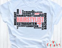 Hairstylist Word Art