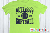 Softball Team Template 001