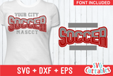 Soccer Template Bundle 1 | SVG Cut File