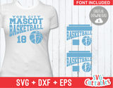 Basketball svg Template 0021