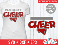 Cheer Template 0021 | SVG Cut File