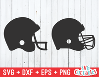 Football Helmets | Football Cut File