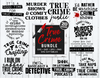 True Crime Bundle | True Crime SVG Cut File
