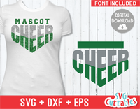 Cheer Template 0022 | SVG Cut File