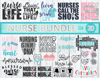 Nurse Bundle | SVG Cut File