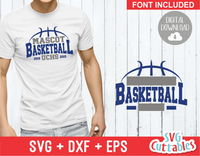 Basketball svg Template 0025