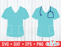 Scrubs SVG Cut File