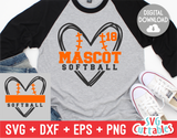 Softball Template 0026