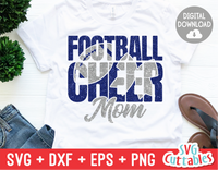 Cheer Mom | Football Mom | SVG Cut File