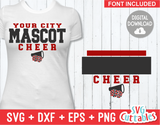 Cheer Template 0028 | SVG Cut File