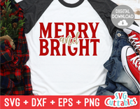 Merry and Bright | Cut File