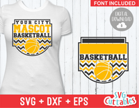 Basketball svg Template 0029