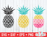 Distressed Pineapples | Summer | SVG Cut File