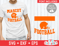 Football Template 002 | SVG Cut File