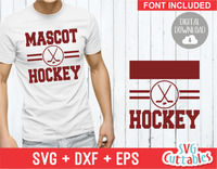 Hockey Template 002, svg cut file
