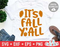 It's Fall Y'all | Cut File