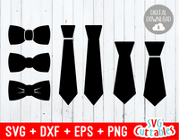 Set of 7 Ties
