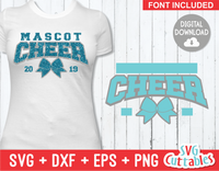Cheer Template 0030 | SVG Cut File