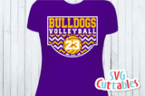 Volleyball Template 0032