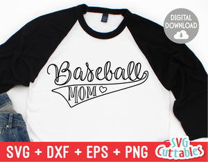 Baseball Mom | SVG Cut File