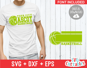 Basketball svg Template 0034