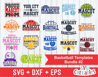 Basketball svg Template Bundle #2