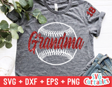 Baseball Grandma | Softball Grandma | SVG Cut File