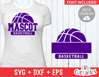 Basketball svg Template 003