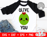 Olive You | Valentine's Day Cut File
