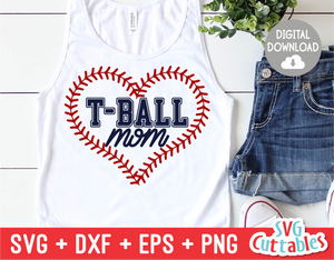 T-Ball Mom | SVG Cut File