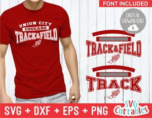 Track and Field Template 003