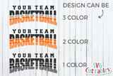 Basketball svg Template 0040