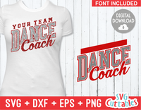 Dance Template 004 | SVG Cut File