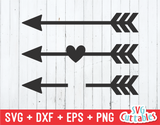 Arrow Set of 3 | SVG Cut File