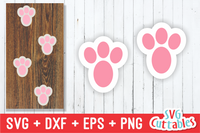 Bunny Feet | Easter Cut File