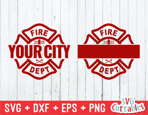 Maltese Cross Template | Firefighter SVG Cut File