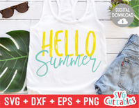 Hello Summer | SVG Cut File