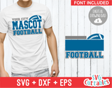 Football Template 006 | SVG Cut File