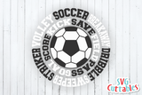 Soccer Subway Art | SVG Cut File