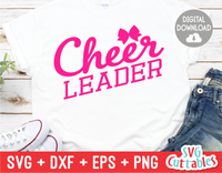Cheerleader | Cheer svg Cut File