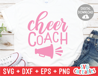 Cheer Coach | Cheer svg Cut File