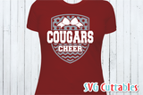 Cheer svg Template 009, svg cut file