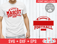 Football Template 0022 | SVG Cut File