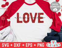 All You Need Is Love | Valentine's Day svg Cut File