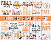 Autumn Bundle 2 | Fall Cut Files