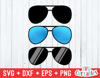 Sunglasses | Aviators | SVG Cut File