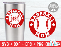 Baseball Mom Momogram frame