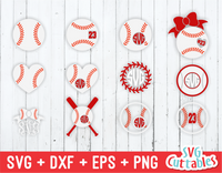 Baseball / Softball Monogram Frames