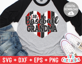 Baseball Grandma  | SVG Cut File