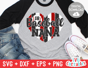 Baseball Nana  | SVG Cut File